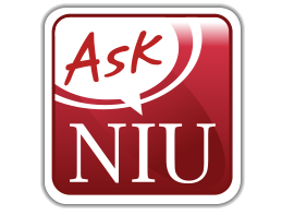 Ask NIU button